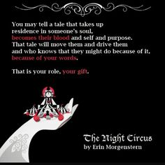 The Night Circus #Widget