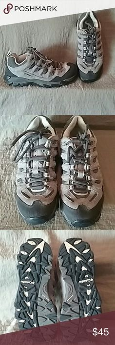 COLUMBIA CROSS-TERRAIN Hikers Columbia CROSS-TERRAIN Hikers have suspension for a comfortable hike. Worn only once. No flaws. Columbia Shoes Athletic Shoes