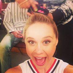 "Becca Tobin ""Last Cheerio pony of the season! Glee Cast, It Cast, Im Your Lady, Becca Tobin, Actresses, Pony, Nails, Board, Silver"