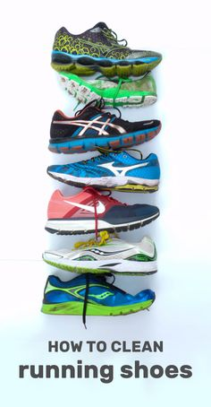 bf16b2dc57ad Confused about how to clean running shoes  Clean and maintain them the  right way with HEX. Here are your answers for all types of stinky