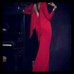 #red#fashion#dress#night#