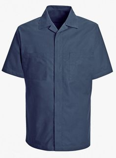 Men's Zip Front Shirt