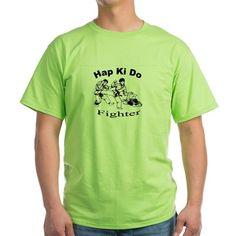 HapKiDo Fighter T-Shirt on CafePress.com
