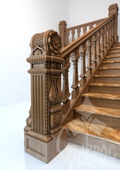 Stair Art, Stair Railing, Railings, Modern Staircase, Staircase Design, Stairs To Heaven, Wooden Stairs, Newel Posts, Main Door