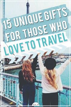 These are the perfect gifts for people who love to travel. These unique gifts for travelers will have them on cloud nine. Find out the perfect travel gifts. Travel Presents, Best Travel Gifts, Best Gifts, Xmas Presents, Travel Themes, Travel Essentials, Travel Tips, Travel Plan, Travel Hacks
