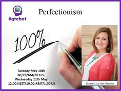 """Perfectionism"" with Guest, Lisa Van Gemert"