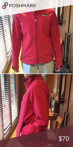 Snyder soft shell jacket sz 10 Practically brand new Spyder soft shell jacket. Women's size 10. Perfect condition Spyder Jackets & Coats