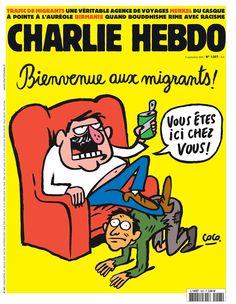 Charlie Hebdo - # 1207 - 9 Septembre 2015 - Couverture : Coco