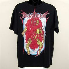 The Last Felony Death Metal Corpse Distressed Size Large | eBay