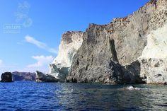 White cliffs #santorini #santorin #griechischeinseln #Greek Islands #ägäis #aegean #aegeansea #aegeanislands #kykladen #cyclades