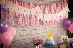 Rapunzel 3rd Birthday Party