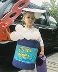 DIY Bubble Girl Costume - 2012 Halloween Costume Contest