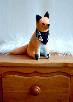 megafauna fox by MountRoyalMint on Etsy