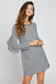 $98.00 Houndstooth Shift Dress BCBGeneration Casual Homecoming Dresses, Dresses To Wear To A Wedding, Modest Dresses, Cute Dresses, Casual Dresses, Boho Outfits, Fall Outfits, Casual Outfits, Fashion Outfits