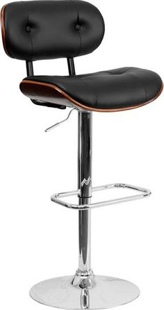 leather bar stools eames