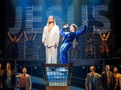 The messiah comes back to the Great White Way on March when the latest revival of Jesus Christ Superstar officially opens on Broadway. Hosanna Music, Stratford Festival, Musical Theatre Broadway, Broadway Nyc, Concept Album, Jesus Christ Superstar, Theatre Geek, Sweeney Todd, Modern Dance