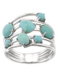 Turquoise ring, amazon.com