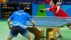 Canada's Eugene Wang drops 3rd round match in Olympic table tennis Hong Kong's Wong Chun Ting advances to 4th round with straight-sets win - Canada's Eugene Wang eliminated in third round of men's singles