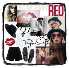 """""""Taylor Swift"""" by robert-xxv ❤ liked on Polyvore featuring Karen Millen, Keds, Oasis and Manic Panic"""