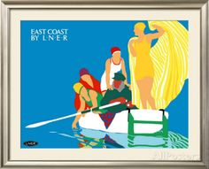 East Coast by LNER Framed Giclee Print by Tom Purvis at AllPosters.com