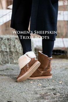 8f2cd5f05da18 Our Trixie Sheepskin Boot is available here https://. Cloud Nine Sheepskin