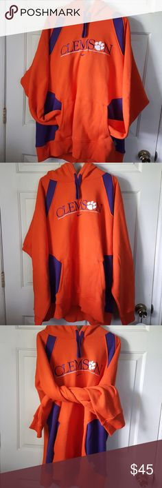 NWT 2XL Clemson University Nike Hoodie CU Gear XXL This is a brand new with  tags fd1ce71e0b43f