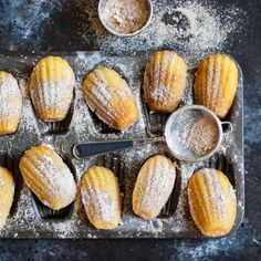 These 'magnifique' gluten free French madeleines are elevated to the next level by adding a homemade vanilla bean custard filling.