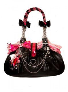 Kitsch Kaos - Pink Positively Charming Handbag