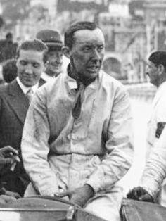 Rene Dreyfus – winner of the 1934 Belgian Grand Prix
