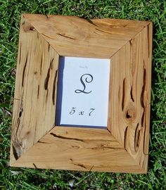 Pecky Cypress Picture Frame 5x7 / A25 by ChildAndHome on Etsy, $34.95