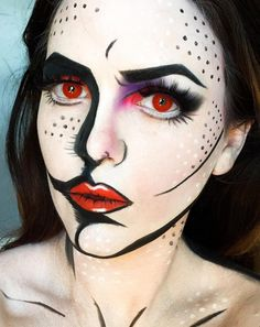 Pop-Art Makeup Ideas So Good, They Actually Look Like Cartoons |