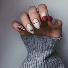 2019 is Also Very Fashionable Nail Polish Designs and Shapes 2019 is Also Very Fashionable Nail Polish Designs and ShapesBy Posted on July nails are very nice but ver Nail Polish Designs, Nail Designs, Gel Nail Colors, Manicure E Pedicure, Nagel Gel, Perfect Nails, White Nails, Trendy Nails, Christmas Nails
