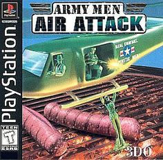 SONY PLAYSTATION ONE Game PS1 PS2 Complete ARMY MEN AIR ATTACK 16 Missions Fun