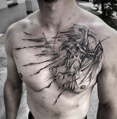 Here are some best Chest Tattoos Ideas for Men. See these tattoos designs and select what you like. There are many best ideas with different bodies and with different sizes of tattoos. Eagle Chest Tattoo, Cool Chest Tattoos, Eagle Tattoos, Cool Tattoos, Trendy Tattoos, New Tattoos, Body Art Tattoos, Sleeve Tattoos, Tattoos For Guys