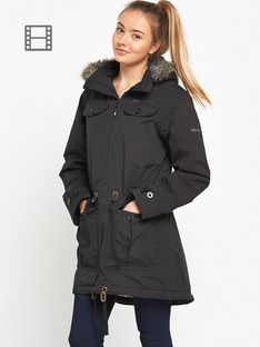 women waterproof parka - Google Search