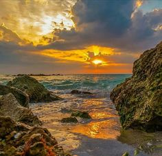 Superb Nature - Caspersen Beach Sunset by DonMiller_ToGo. Sunset Pictures, Beach Pictures, Landscape Photography, Nature Photography, All Nature, Beautiful Beaches, Beautiful Pictures, Scenery, Photos