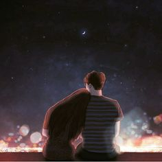 Hyocheon Jeong creates cute couple illustrations depicting quiet moments of falling in love. The dreamy art is as if the two people are alone in the world. Cute Couple Drawings, Cute Couple Art, Anime Love Couple, Couple Cartoon, Love Drawings, Paar Illustration, Couple Illustration, Anime Couples, Cute Couples