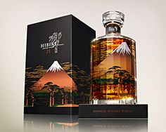 Limited edition of the Hibiki 21 year old Mount Fuji | Japanese Whisky. This is excellent...