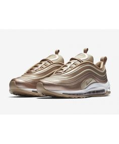 new arrival d97c1 c8df4 UK Sale Nike Air Max 97 Ultra Metallic Red Bronze White-Gum Light Brown  Shoes