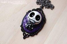 Jack Skellington necklace by GiuliaSnape.deviantart.com on @deviantART