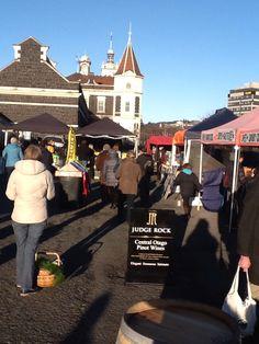Dunedin Saturday Farmer's Market in Dunedin, Otago Pinot Wine, Farmers Market, New Zealand, Street View, Marketing