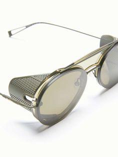 Cool Glasses, Mens Glasses, Max Mara, Dark Fashion, Mens Fashion, Steampunk Sunglasses, Aviator Glasses, Optical Glasses, Glamour