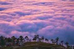 The Sunrise in Nagarkot, Nepal by Anton Jankovoy