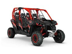 New 2016 Can-Am Maverick MAX X rs 1000R Turbo ATVs For Sale in Colorado. 2016 Can-Am Maverick MAX X rs 1000R Turbo, Lead the pack with the most powerful four-seater sport side-by-side in the industry. Its 131 hp turbocharged engine and package specific suspension settings allow you to rip through the whoops and desert with impressive handling.