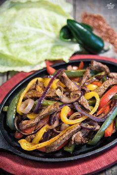 Oven Baked Beef Fajitas Recipe