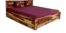 Buy Cayenne King Size Bed with storage in Sheesham Wood by Woodsworth by Woodsworth online from Pepperfry. ✓Exclusive Offers ✓Free Shipping ✓EMI Available