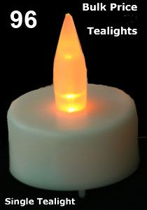 Check out the deal on Bulk Tealights 96 Pcs with Batteries at Battery Operated Candles