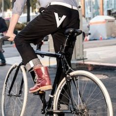 Some of my favorite bicycle accessories to make it a fun and stylish experience to bike to work.  No spandex allowed!  And remember, National Bike to Work Day is May 17th.