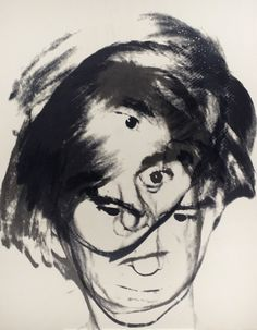 Self-Portrait | Andy Warhol, Self-Portrait (ca. 1977) ♠️♠️️More At FOSTERGINGER @ Pinterest ️♠️♠️