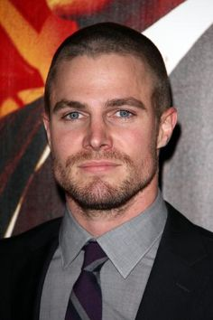 Stephen Amell who is going to be in the new CW show, Arrow!